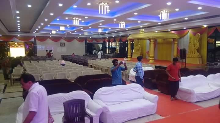 AC kalyana mandapam in Chennai for memorable events