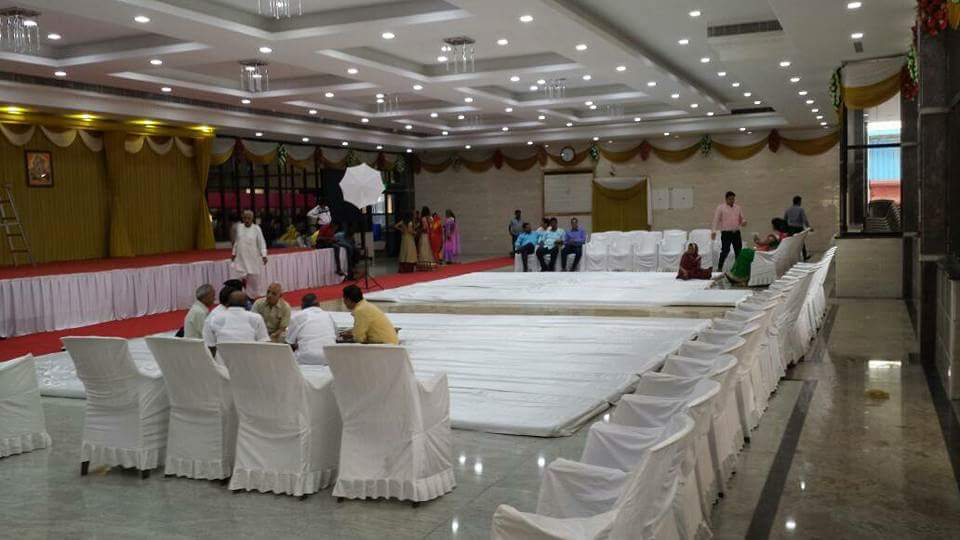 Mini-Party-halls